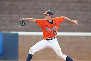 Virginia's Danny Hultzen (23) pitches vs. Mississippi during an NCAA Regional game at Davenport Field in Charlottesville, Va. on Saturday, June 5, 2010.  Virginia won 13-7.