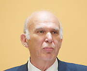 Liberal Democrat Leadership press conference. <br /> Vince Cable - new leader <br /> <br /> 20th July 2017 <br /> at The St Ermin&rsquo;s Hotel, London. Great Britain <br /> &nbsp;<br /> <br /> <br /> Photograph by Elliott Franks <br /> Image licensed to Elliott Franks Photography Services