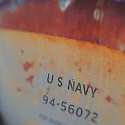 US Navy Truck Door Panel - Pearsonville, CA - Lensbaby