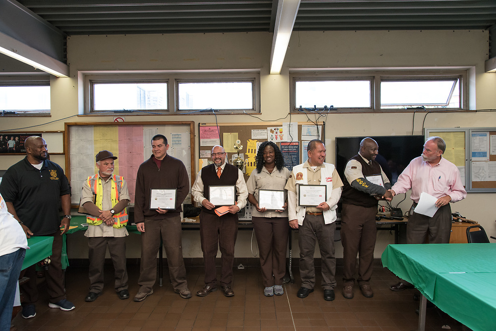Cable Car Division Systemwide Operator of the Month   July 28, 2017