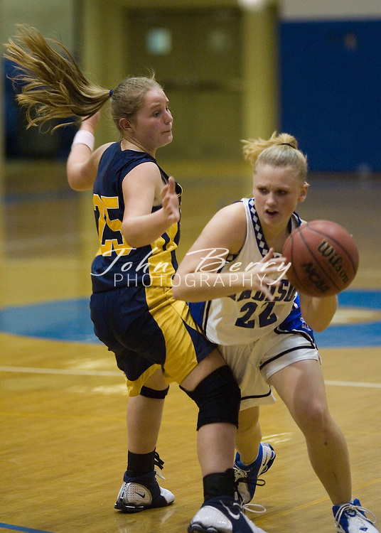 MCHS Varsity Girls Basketball.vs Rappahannock.January 4, 2005