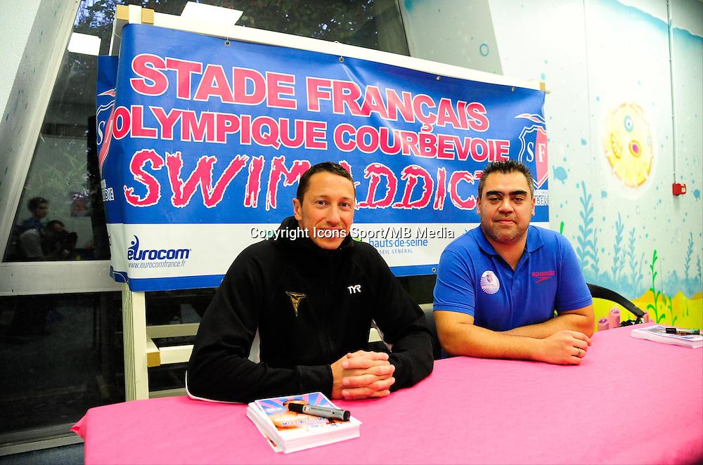 Frederick BOUSQUET  / Olivier SANGARIA -  16.01.2015 - Meeting de Courbevoie 2015<br />Photo : Dave Winter / Icon Sport