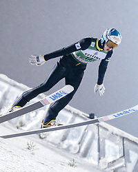 February 8, 2019 - Lahti, Finland - Eetu Nousiainen competes during FIS Ski Jumping World Cup Large Hill Individual Qualification at Lahti Ski Games in Lahti, Finland on 8 February 2019. (Credit Image: © Antti Yrjonen/NurPhoto via ZUMA Press)