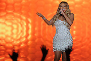 US singer Mariah Carey performs during her Jupiters 2013 show at the Gold Coast Convention and Exhibition Centre on the Gold Coast, Tuesday, Jan. 1, 2013. (AAP Image/Matt Roberts) NO ARCHIVING
