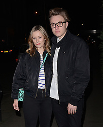 Guest and Roman Kemp attend LCM a/w 2015: Christopher Raeburn and Mens Health Party at The Sanderson Hotel, Berners Street, London on Saturday 10 January 2015