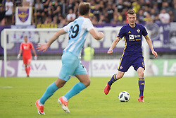 Aleks Pihler of NK Maribor during football match between NK Maribor and ND Gorica in Round #36 of Prva liga Telekom Slovenije 2017/18, on April 27, 2018 in Ljudski vrt, Maribor, Slovenia. Photo by Urban Urbanc / Sportida