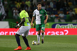 September 19, 2017 - Lisbon, Lisbon, Portugal - Sportings defender Tobias Figueiredo from Portugal during the Portuguese Cup 2017/18 match between Sporting CP v CS Maritimo, at Alvalade Stadium in Lisbon on September 19, 2017. (Credit Image: © Dpi/NurPhoto via ZUMA Press)