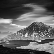 Coire an Lochan & Sgurr Eilde Mor, Lochaber, highlands, Scotland.