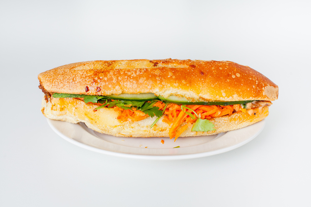 Peppercorn Catfish Sandwich from Num Pang ($3.46) - MealPal Promo (50% off)