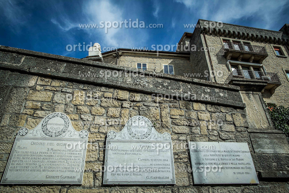 Giuseppe Garibaldi in City of San Marino, on October 12, 2015 in Republic of San Marino. Photo by Vid Ponikvar / Sportida