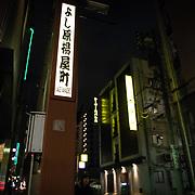 """Tokyo's pleasure district """"Yoshiwara"""""""