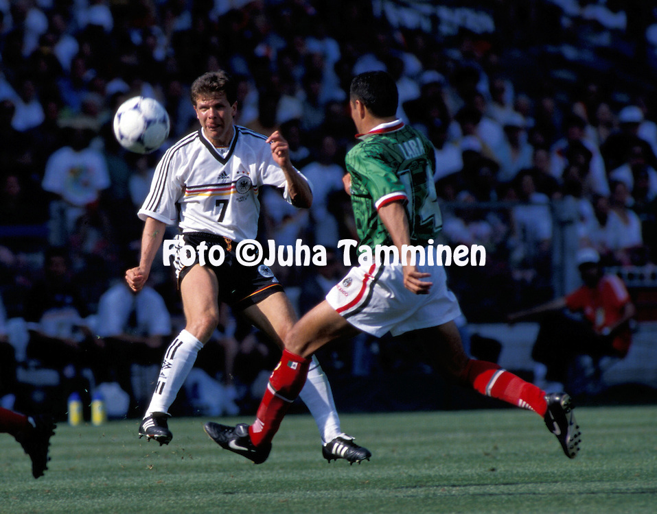 FIFA World Vup - France 1998.Andreas M?ller - Germany.©JUHA TAMMINEN