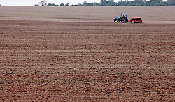 May 1, 2019 - Campo MourãO, Brazil - CAMPO MOURÃO, PR - 01.05.2019: AGRICULTORES INICIAM PLANTIO DE TRIGO PR - Rural farmers in Campo Mourão, in the Center-West Region of Paraná, started planting wheat, encouraged by the prices practiced in the agricultural market. In the photo, planting of wheat in rural property in Campo Mourão. (Credit Image: © Dirceu Portugal/Fotoarena via ZUMA Press)