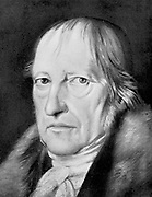 George Wilhlem Friedrich Hegel  (1770-1831) German idealist philosopher. His difficult philosophy, considered by many to be obscure, has had  great influence on Marxists, Positivists and Existentialists.