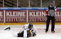 08.12.2010, UPC Arena, Graz, AUT, Benefizspiel, Moser Medical Graz 99ers, im Bild Georg Thürauer (#15) gegen Johannes Forisch (#76), EXPA Pictures © 2010, PhotoCredit: EXPA/ Erwin Scheriau