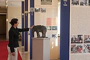 Dauerausstellung Geschichte des Hotels im Hotel Elephant, Weimar, Thüringen, Deutschland | exhibition in Hotel Elephant, Weimar, Thuringia, Germany