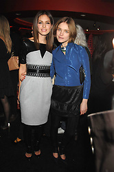 Left to right, DASHA ZHUKOVA close friend of Roman Abramovich and NATALIA VODIANOVA at a party to celebrate the launch of the Kova & T fashion label and to re-launch the Harvey Nichols Fifth Floor Bar, held at harvey Nichols, Knightsbridge, London on 22nd November 2007.<br /><br />NON EXCLUSIVE - WORLD RIGHTS