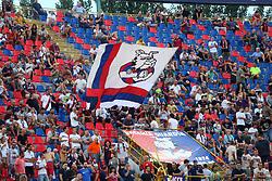 Foto Filippo Rubin/<br /> 12 agosto 2018 Torino, Italia<br /> sport calcio<br /> Bologna vs Padova - Coppa Italia 2018/2019 Terzo turno - stadio Renato Dall'Ara.<br /> Nella foto: I TIFOSI DEL BOLOGNA<br /> <br /> Photo Filippo Rubin/<br /> august 12, 2018 Turin, Italy<br /> sport soccer<br /> Bologna vs Padova - Italian Football Cup 2018/2019 Third Round - Renato Dall'Ara Stadium<br /> In the pic: BOLOGNA SUPPORTERS