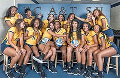 2017 A&T Volleyball Team Pictures
