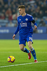 February 23, 2019 - Leicester, England, United Kingdom - Harvey Barnes of Leicester City during the Premier League match between Leicester City and Crystal Palace at the King Power Stadium, Leicester on Saturday 23rd February 2019. (Credit Image: © Mi News/NurPhoto via ZUMA Press)
