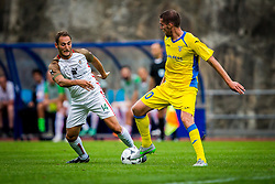 Luka Zinko of NK Domzale during football match between NK Domzale and FC Lusitanos Andorra in second leg of UEFA Europa league qualifications on July 7, 2016 in Andorra la Vella, Andorra. Photo by Ziga Zupan / Sportida