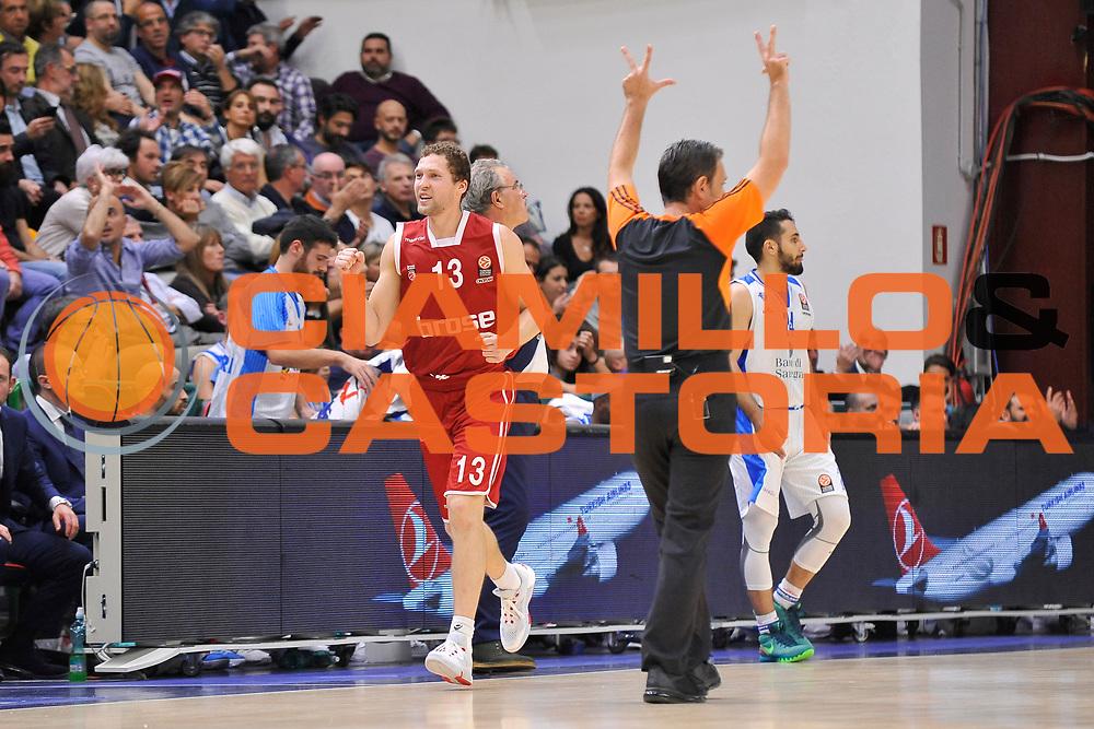 DESCRIZIONE : Eurolega Euroleague 2015/16 Group D Dinamo Banco di Sardegna Sassari - Brose Basket Bamberg<br /> GIOCATORE : Janis Streilnieks<br /> CATEGORIA : Ritratto Esultanza Composizione<br /> SQUADRA : Brose Basket Bamberg<br /> EVENTO : Eurolega Euroleague 2015/2016<br /> GARA : Dinamo Banco di Sardegna Sassari - Brose Basket Bamberg<br /> DATA : 13/11/2015<br /> SPORT : Pallacanestro <br /> AUTORE : Agenzia Ciamillo-Castoria/C.Atzori