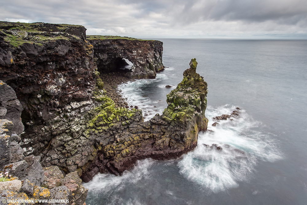 Svörtuloft in West-Iceland.