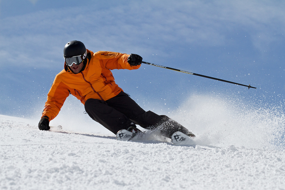 Darren Turner, Skiing, Serre Chevalier, France
