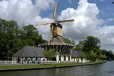 Molens in Weesp, Noord Holland