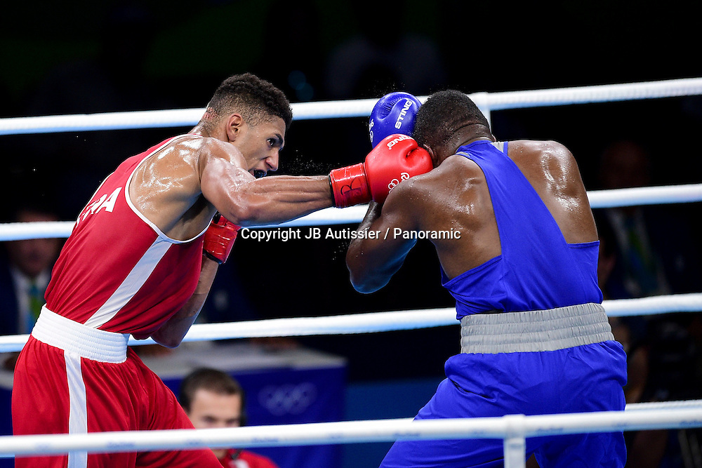 YOKA Tony Victor James (Fra) vs CLAYTON Laurent Jr (ISV) - +91kg - lourds