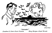 Task Force ; Gary Cooper and Jane Wyatt