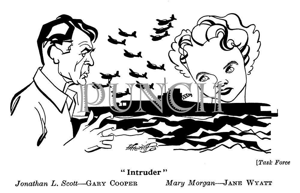 Task Force ; Gary Cooper and Jane Wyatt