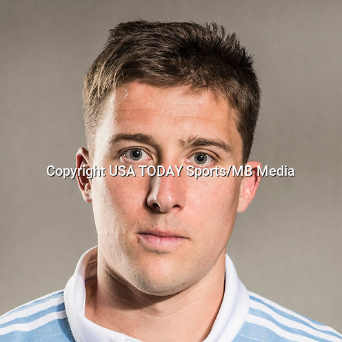 Feb 25, 2017; USA; Sporting Kansas City player Matt Besler poses for a photo. Mandatory Credit: USA TODAY Sports