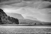 Receding Ridges, Columbia River Gorge, Portland, Oregon, USA.