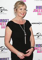 Carol Kirkwood, Celebrities attend an exclusive Bridget Jones's Baby Red Carpet Screening and Bridget inspired Dating Seminar to celebrate the UK DVD release, Charlotte Street Hotel, London UK, 31 January 2017, Photo by Brett D. Cove