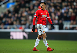 Alexis Sanchez of Manchester United - Mandatory by-line: Matt McNulty/JMP - 11/02/2018 - FOOTBALL - St James Park - Newcastle upon Tyne, England - Newcastle United v Manchester United - Premier League