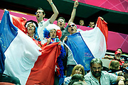 DESCRIZIONE : France Hand Jeux Olympiques Londres <br /> GIOCATORE : Supporters France FRA<br /> SQUADRA : France Femme<br /> EVENTO : FRANCE Hand Jeux Olympiques<br /> GARA : FRANCE NORVEGE<br /> DATA : 28 07 2012<br /> CATEGORIA : Hand Jeux Olympiques<br /> SPORT : Handball<br /> AUTORE : JF Molliere <br /> Galleria : France Hand 2011-2012 Action<br /> Fotonotizia : France Hand Femme Hand Jeux Olympiques Londres