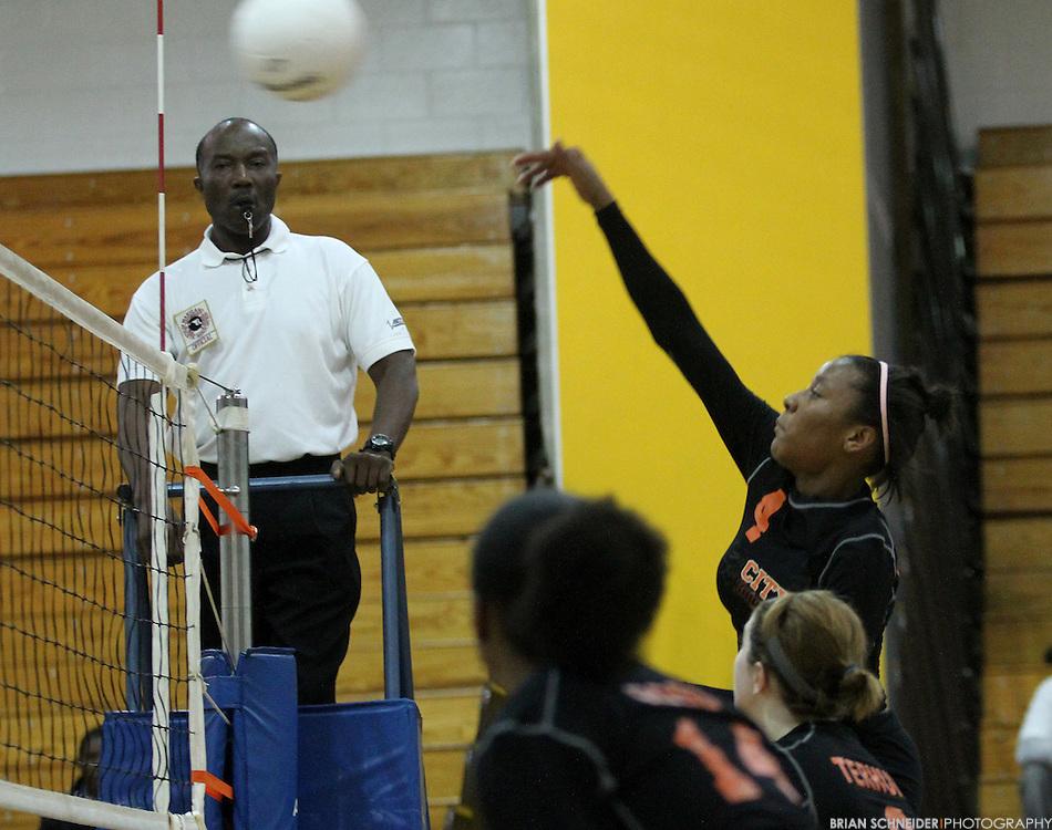 Nov 3, 2010; Baltimore, MD, USA; City Championship at Baltimore City College High School.