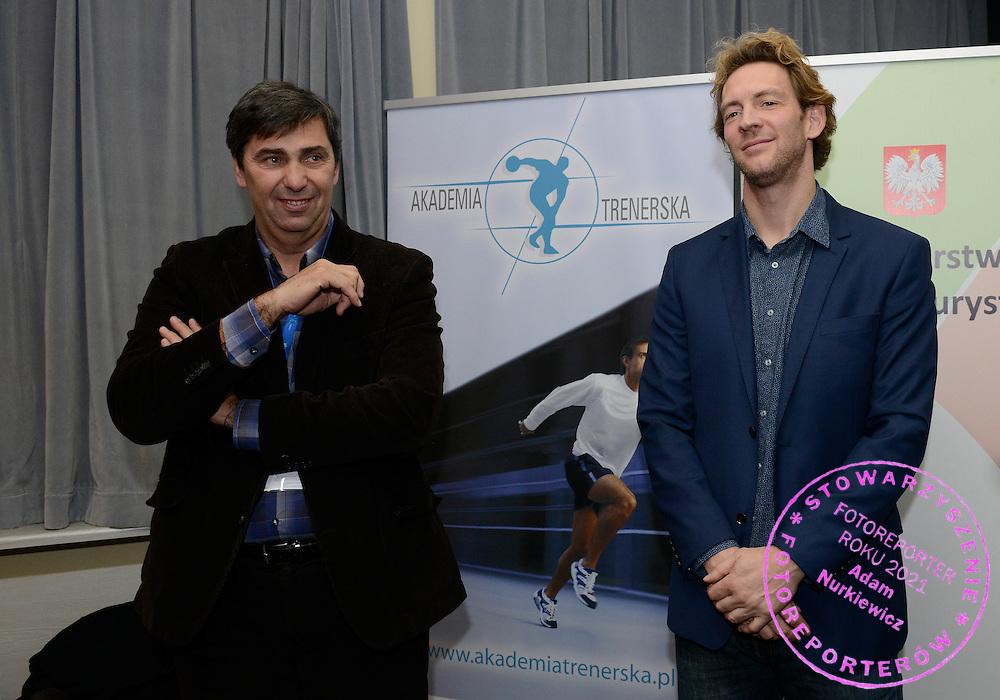 Spała 17/11/2014<br /> Konferencja trener&oacute;w szkolenia olimpijskiego- <br /> Rio de Janeiro 2016<br /> Na zdj. Stephane Antiga<br />  Fot. Piotr Hawalej
