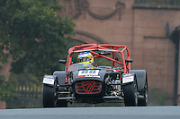 #88 G Fincham / B Fincham Caterham R400 1800 during the CSCC Gold Arts Magnificent Sevens at Oulton Park, Little Budworth, Cheshire, United Kingdom. October 15 2016. World Copyright Peter Taylor/PSP. <br /> Copy of publication required for printed pictures.  Every used picture is fee-liable. http://archive.petertaylor-photographic.co.uk