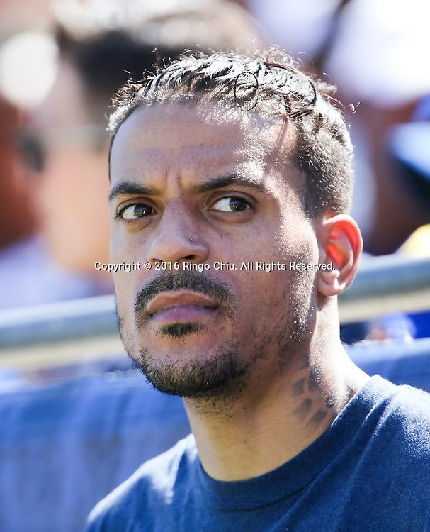 Matt Barnes attends in a NFL football game between Los Angeles Rams and Seattle Seahawks, Sunday, Sept. 18, 2016, in Los Angeles. The Rams won 9-3. (Photo by Ringo Chiu/PHOTOFORMULA.com)<br /> <br /> Usage Notes: This content is intended for editorial use only. For other uses, additional clearances may be required.