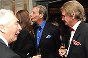 SIR ROBERT OGDEN; ANNA OLIVEIRA; SIR HENRY CECIL; ANDY STEWART, The Cartier Racing Awards. The Ballroom, Dorchester hotel. Park Lane. London. 15 November 2011. <br /> <br />  , -DO NOT ARCHIVE-© Copyright Photograph by Dafydd Jones. 248 Clapham Rd. London SW9 0PZ. Tel 0207 820 0771. www.dafjones.com.
