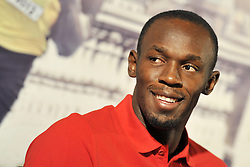 Usain Bolt Golden Gala Press Conference, Rome. Tuesday 29th May 2012. Photo by Imago/ i-Images.