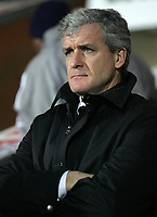 Photo: Paul Thomas.<br /> Blackburn Rovers v Arsenal. The Barclays Premiership. 13/01/2007.<br /> <br /> Mark Hughes, manager of Blackburn.