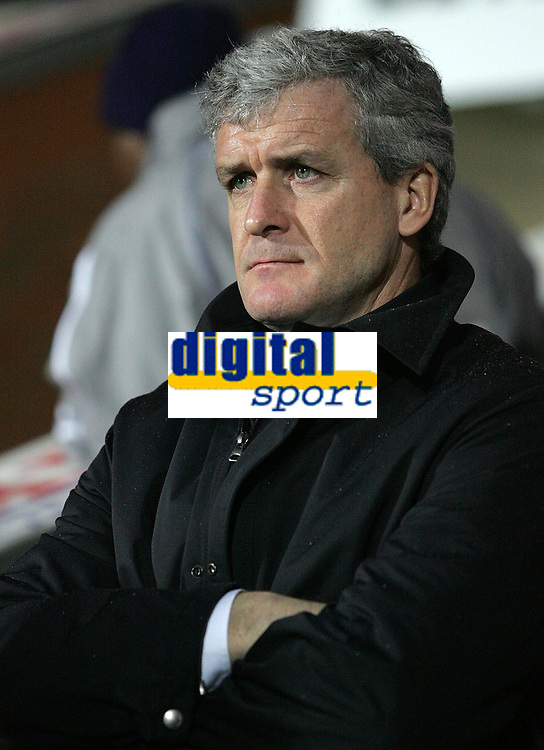 Photo: Paul Thomas.<br /> Blackburn Rovers v Arsenal. The Barclays Premiership. 13/01/2007.<br /> <br /> Mark Hughes, manager of Blackburn.