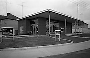 28/7/1964<br /> 7/28/1964<br /> 28 July 1964<br /> <br /> Exterior view of Bank of Ireland Drive in Bank in Rahery