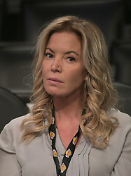 November 21, 2017 - Los Angeles, California, United States of America - Jeanie Buss owner of the Los Angeles Lakers attends the game against the Chicago Bulls on Tuesday November 21, 2017 at the Staples Center in Los Angeles, California. Lakers defeat Bulls, 103-94. JAVIER ROJAS/PI (Credit Image: © Prensa Internacional via ZUMA Wire)