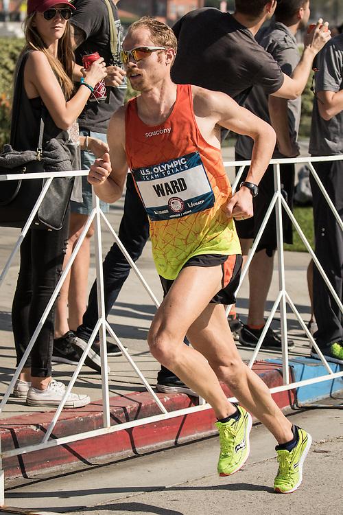 USA Olympic Team Trials Marathon 2016, Jared Ward, Saucony