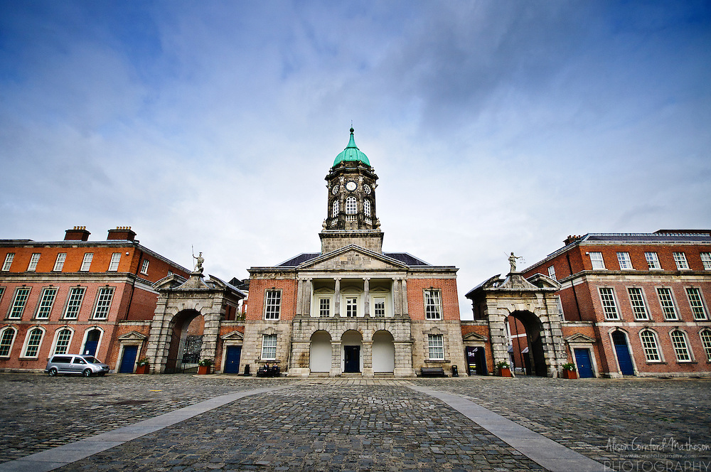 The Bedford Tower is the centrepiece of Dublin Castle, now an Irish government building.