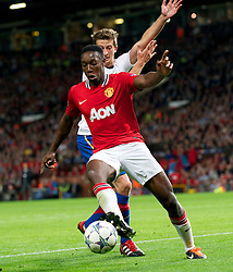 27.09.2011, Old Trafford, London, ENG, UEFA CL, Gruppe C, Manchester United (ENG) vs FC Basel (SUI), im Bild Manchester United's Danny Welbeck in action against FC Basel 1893 // during the UEFA Champions League game, group C, Manchester United (ENG) vs FC Basel (SUI) at Old Trafford stadium in London, United Kingdom on 2011/09/27. EXPA Pictures © 2011, PhotoCredit: EXPA/ Propaganda Photo/ David Rawcliff +++++ ATTENTION - OUT OF ENGLAND/GBR+++++